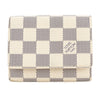 Louis Vuitton Damier Azur Business Card Holder (Pre Owned)