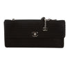 Chanel Black Satin Chain Shoulder Bag (Pre Owned)