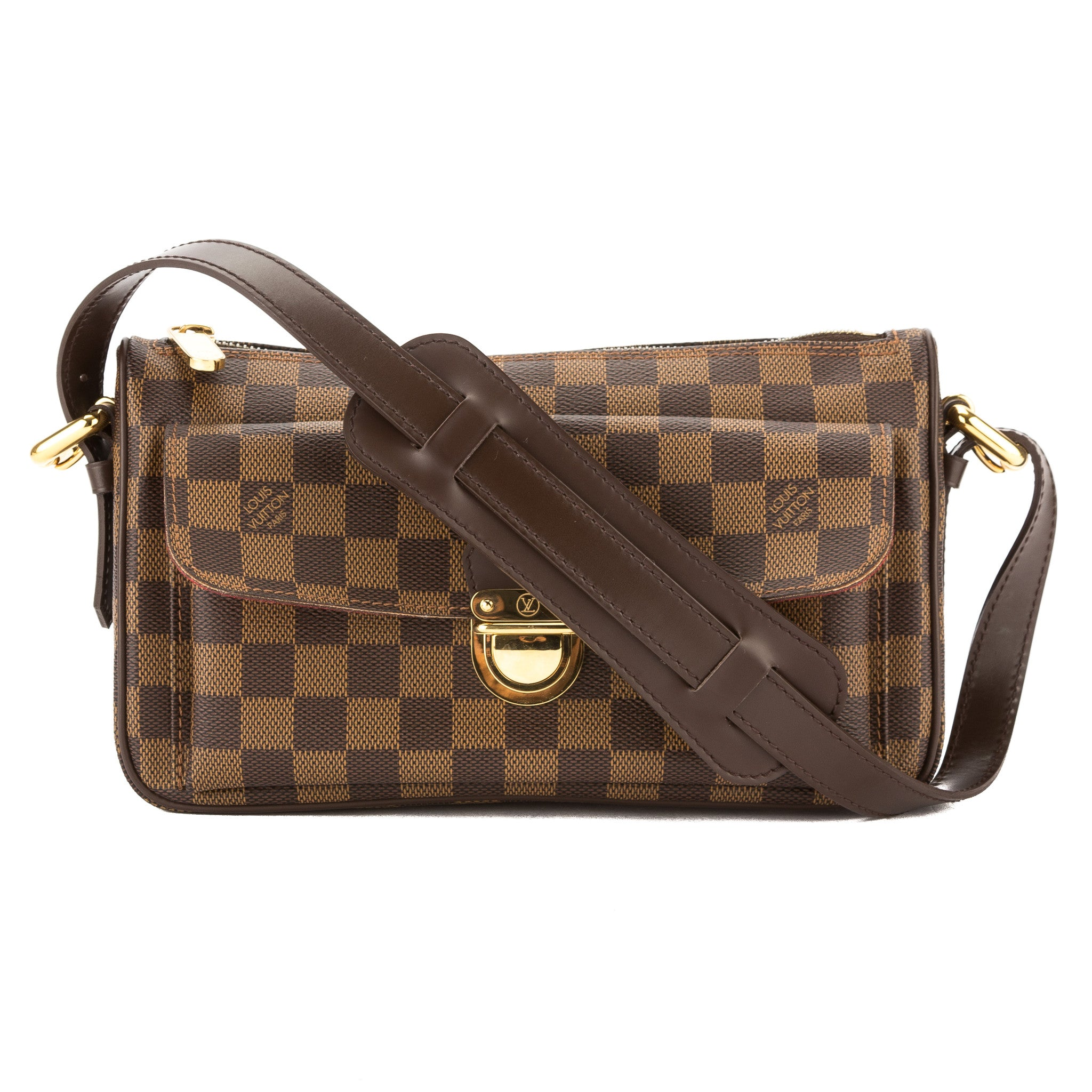 f6c078a1042e Louis Vuitton Damier Ebene Ravello GM Bag (Pre Owned) - 3438037