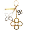 Louis Vuitton Gold and Silver Metal Bijoux Sac Tapage Bag Charm (Pre Owned)