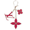 Louis Vuitton Red Fleur d'Epi Bag Charm Chain (Pre Owned)