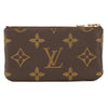 Louis Vuitton Monogram Canvas Pochette Cles Coin Case (Pre Owned)