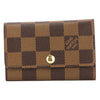 Louis Vuitton Damier Ebene Canvas Multicles 6-Key Case (Pre Owned)