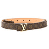 Louis Vuitton Monogram Canvas Initiales 40MM Belt (Pre Owned)