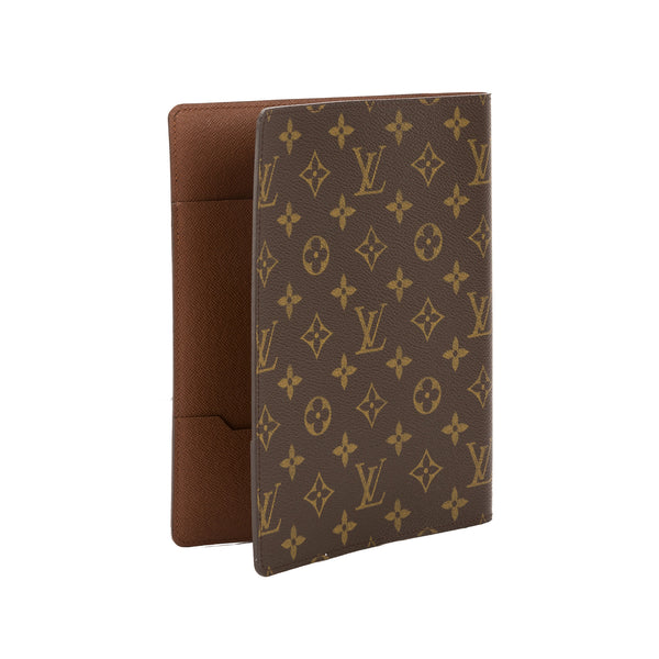 louis vuitton monogram canvas address book cover  pre owned