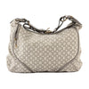 Louis Vuitton Platine Monogram Mini Lin Canvas Manon MM Bag (Pre Owned)