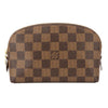 Louis Vuitton Damier Ebene Canvas Cosmetic Pouch (Pre Owned)