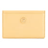 Chanel Beige Caviar Leather Coco Button Card Case (Pre Owned)