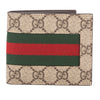 Gucci GG Supreme Canvas Web Wallet (New with Tags)