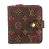 Louis Vuitton Monogram Canvas Perforated Compact Zip Bifold Wallet  (Pre Owned)