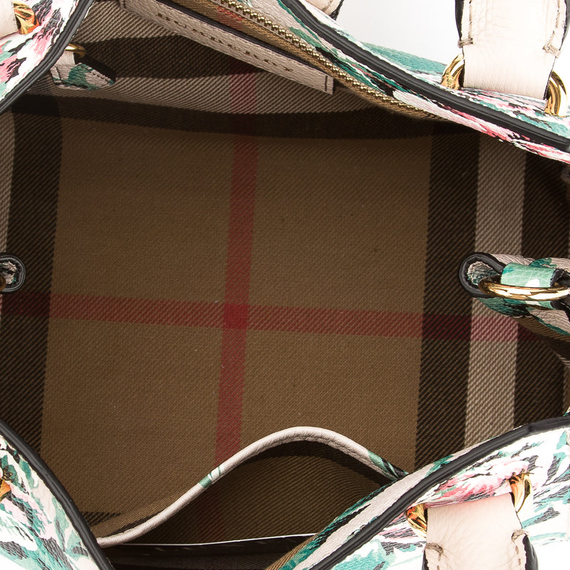 Burberry Leather Peony Rose Print Small Crossbody Bag (New with Tags)