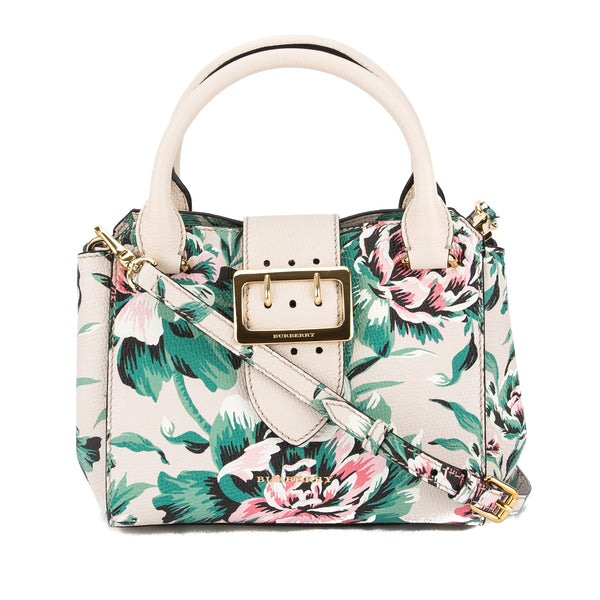 419961d97e85 Burberry Leather Peony Rose Print Small Crossbody Bag (New with Tags ...