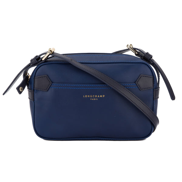 94726e944d6c Longchamp Blue and Navy Leather 2.0 Crossbody Bag (New with Tags ...