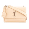 Saint Laurent Nude Grained Leather Medium Sunset Monogram Bag (New with Tags)