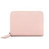 Saint Laurent Antique Rose Leather Rive Gauche Compact Zip Around Wallet (New with Tags)