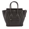 Celine Black Calfskin Leather Micro Luggage Handbag (New with Tags)