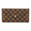 Louis Vuitton Damier Ebene Origami Long Wallet (Pre Owned)