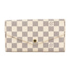Louis Vuitton Damier Azur Canvas Sarah Wallet (Pre Owned)