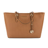 Michael Kors Luggage Saffiano Leather Jet Set Travel Medium Top Zip Multi-Function Tote (New with Tags)