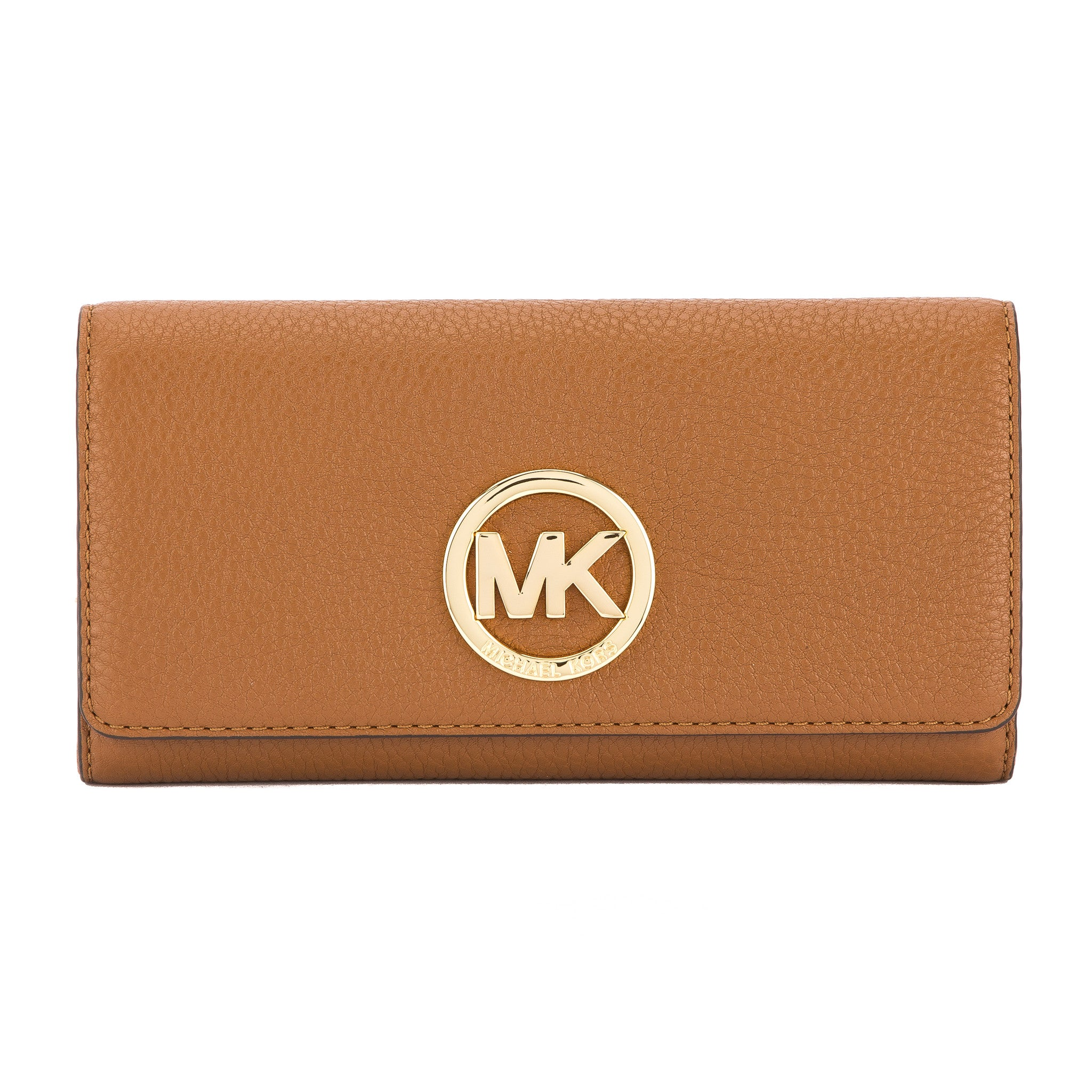 80aada1107ce Michael Kors Luggage Venus Leather Fulton Carryall Wallet (New with ...