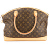 Louis Vuitton Monogram Canvas Lockit Horizontal Bag (Pre Owned)