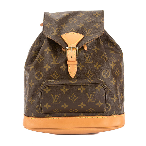 Louis Vuitton Monogram Canvas Montsouris MM Backpack (Pre Owned)