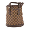 Louis Vuitton Damier Ebene Canvas Marais Bucket Bag (Pre Owned)