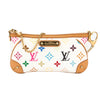 Louis Vuitton White Monogram Canvas Multicolore Pochette Milla MM Bag (Pre Owned)