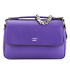 Fendi Purple Leather Double Micro Baguette Bag (New with Tags)