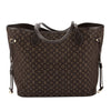 Louis Vuitton Ebene Monogram Idylle Canvas Neverfull MM Bag (Pre Owned)