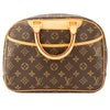 Louis Vuitton Monogram Canvas Trouville Bag (Pre Owned)