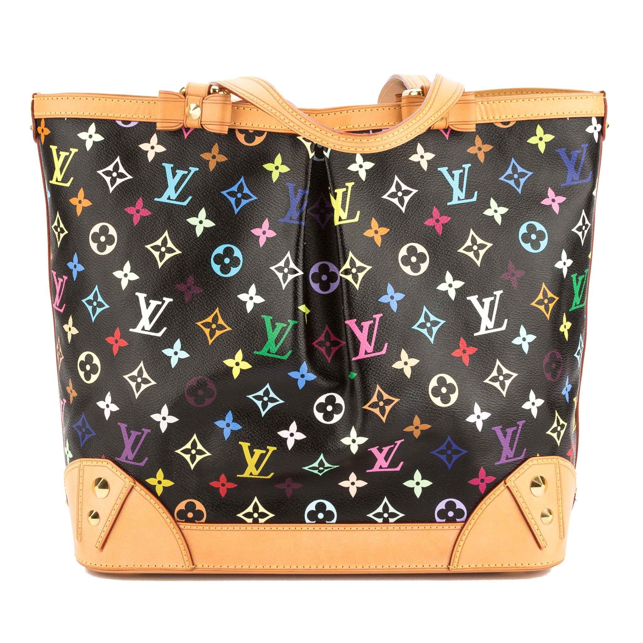 695e9b846169 Louis Vuitton Black Monogram Multicolore Sharleen MM Bag (Pre Owned ...