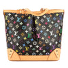 Louis Vuitton Black Monogram Multicolore Sharleen MM Bag (Pre Owned)