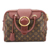 Louis Vuitton Bordeaux Monogram Canvas Golden Arrow Speedy Bag (Pre Owned)
