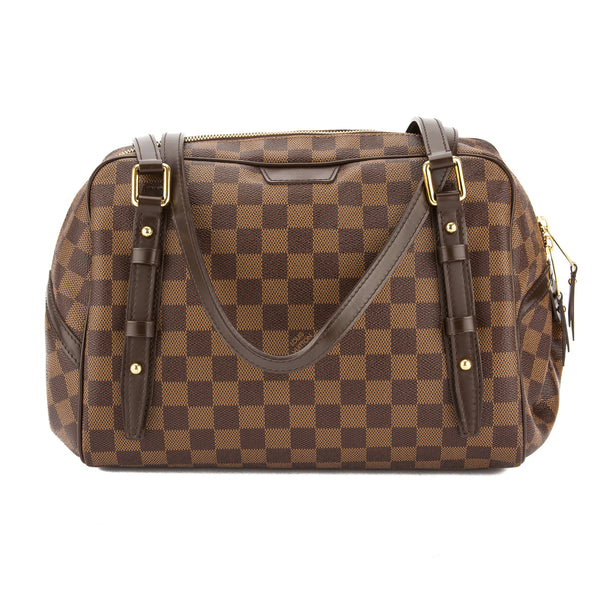 f4f5c68f9702 Louis Vuitton Damier Ebene Canvas Rivington GM Bag (Pre Owned ...