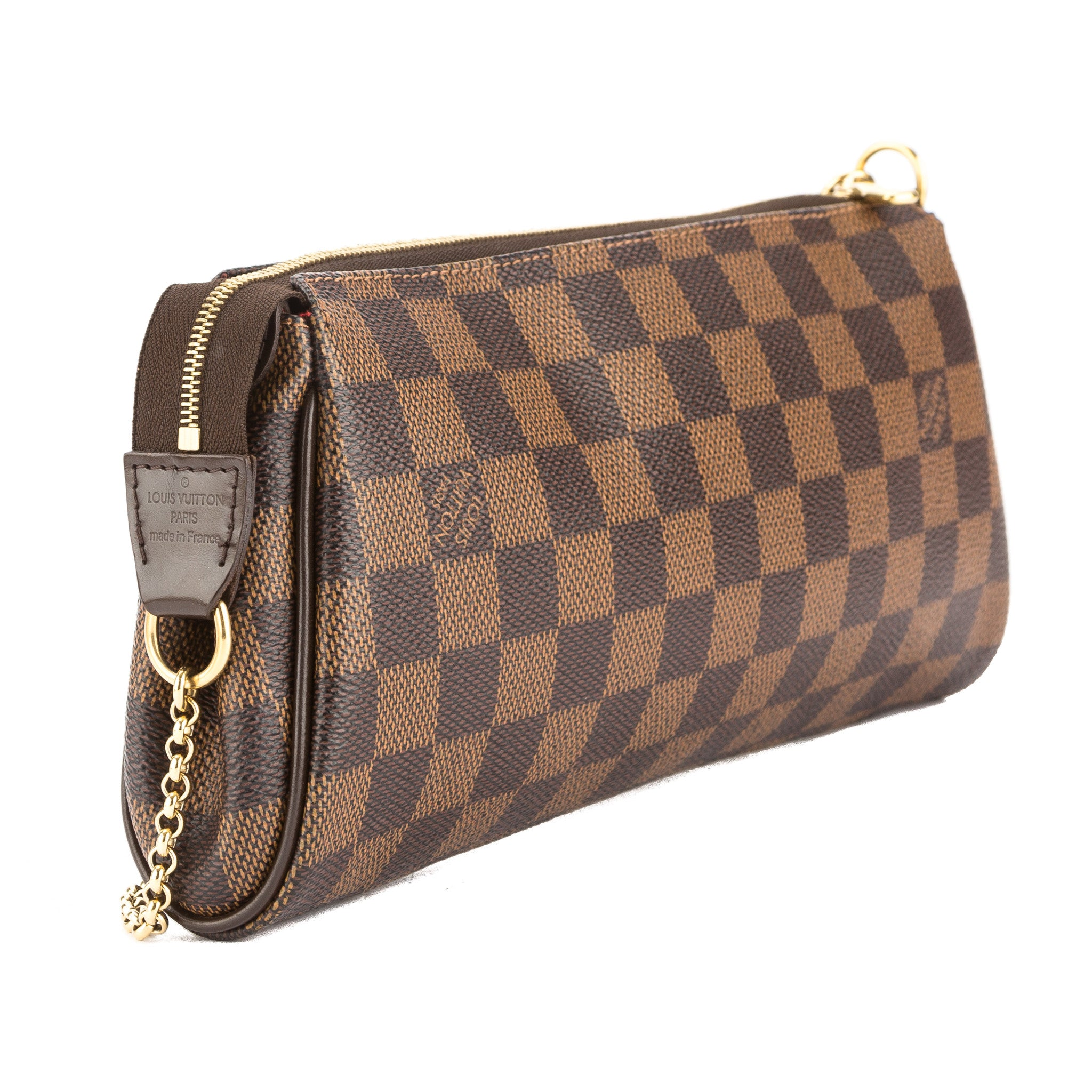 44297a2fc5d4 Louis Vuitton Damier Ebene Canvas Eva Bag (Pre Owned) - 3487002