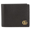 Gucci Black Leather GG Marmont Bifold Wallet (New with Tags)