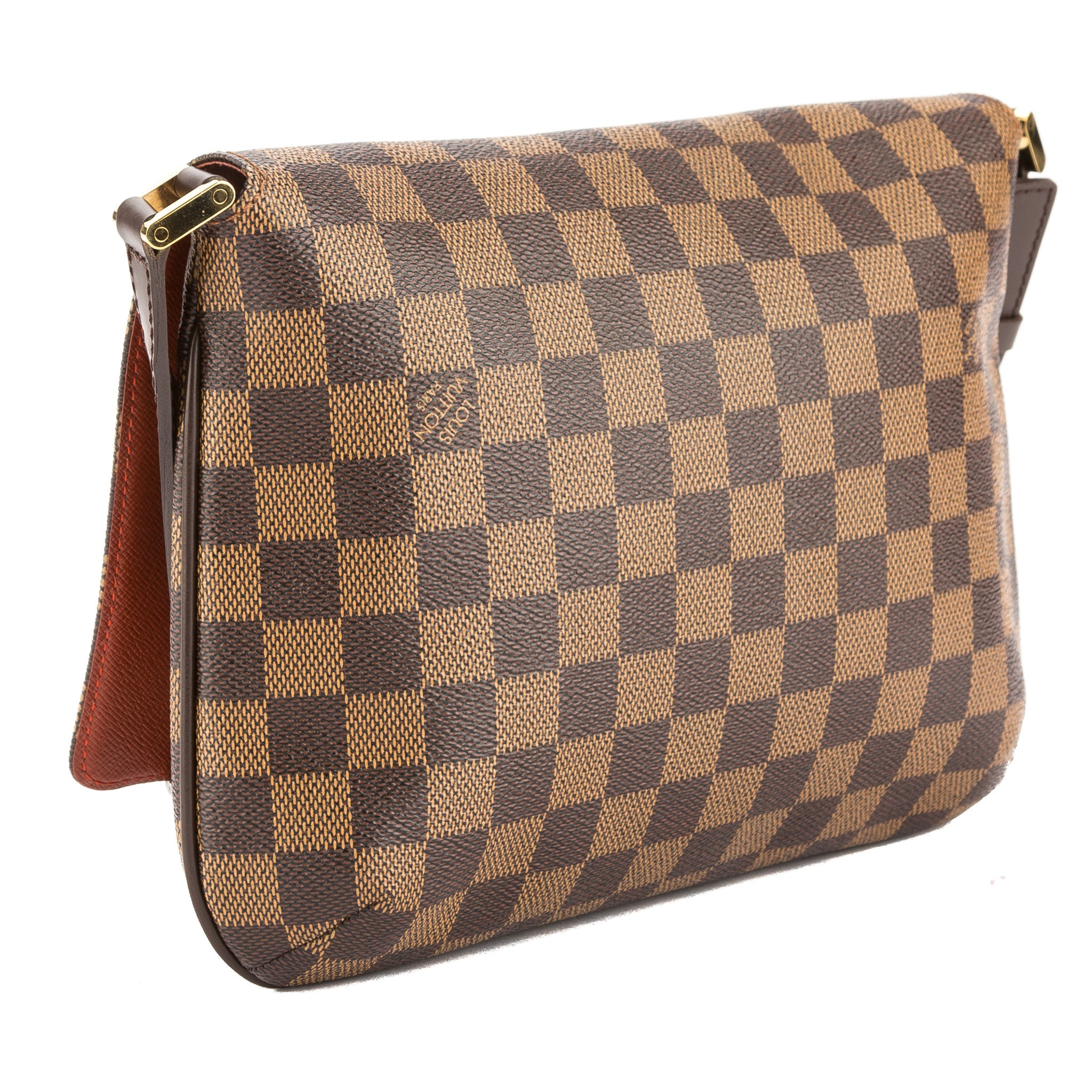 c873a37311f8 Louis Vuitton Damier Ebene Canvas Musette Tango Short Strap Bag (Pre O -  3494006