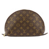 Louis Vuitton Monogram Canvas Trousse Demi Ronde Cosmetic Pouch (Pre Owned)