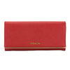 Prada Red Saffiano Leather Flap Wallet (New with Tags)