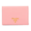 Prada Blush Pink Saffiano Leather Card Holder (New with Tags)