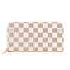 Louis Vuitton Damier Azur Canvas Zippy Long Wallet (Pre Owned)