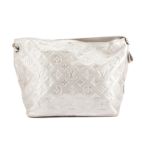 Louis Vuitton Argent Monogram Shimmer Leather Halo Bag (Pre Owned)