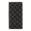 Louis Vuitton Damier Graphite Canvas Brazza Wallet (Pre Owned)