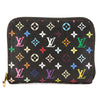 Louis Vuitton Black Monogram Canvas Multicolore Zippy Coin Purse (Pre Owned)