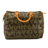 Louis Vuitton Green Monogram Canvas Stephen Sprouse Grafitti Speedy 30 Bag (Pre Owned)