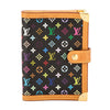 Louis Vuitton Black Monogram Canvas Multicolore Agenda PM Day Planner Cover (Pre Owned)