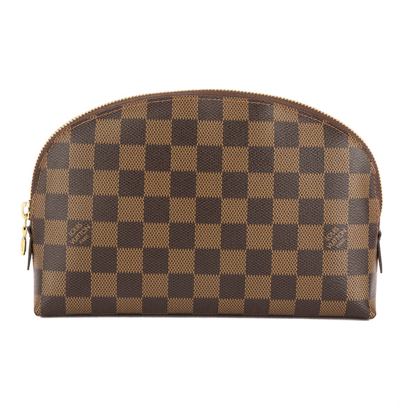 5fa66cd019 Louis Vuitton Damier Ebene Canvas Cosmetic GM Pouch (Pre Owned)