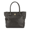 Chanel Black Caviar Leather Executive Tote Bag (Pre Owned)