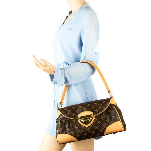 e881b0e32d70 Louis Vuitton Monogram Canvas Beverly MM Bag (Pre Owned) - 3511011 ...